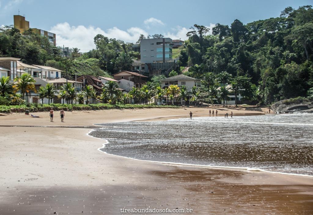 Praia dos Namorados, em anchieta