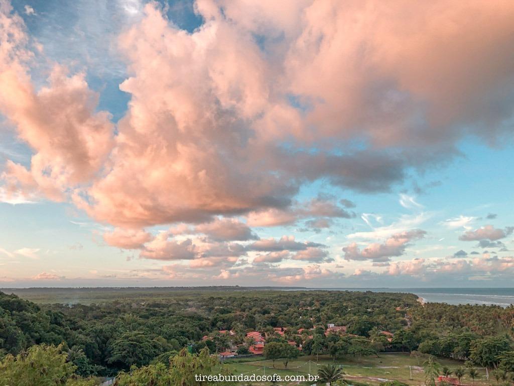 Vista da parte alta de Arraial, de cima da rua bella vista