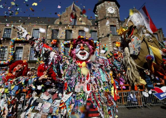 Carnaval de Rua em Colonia, na Alemanha