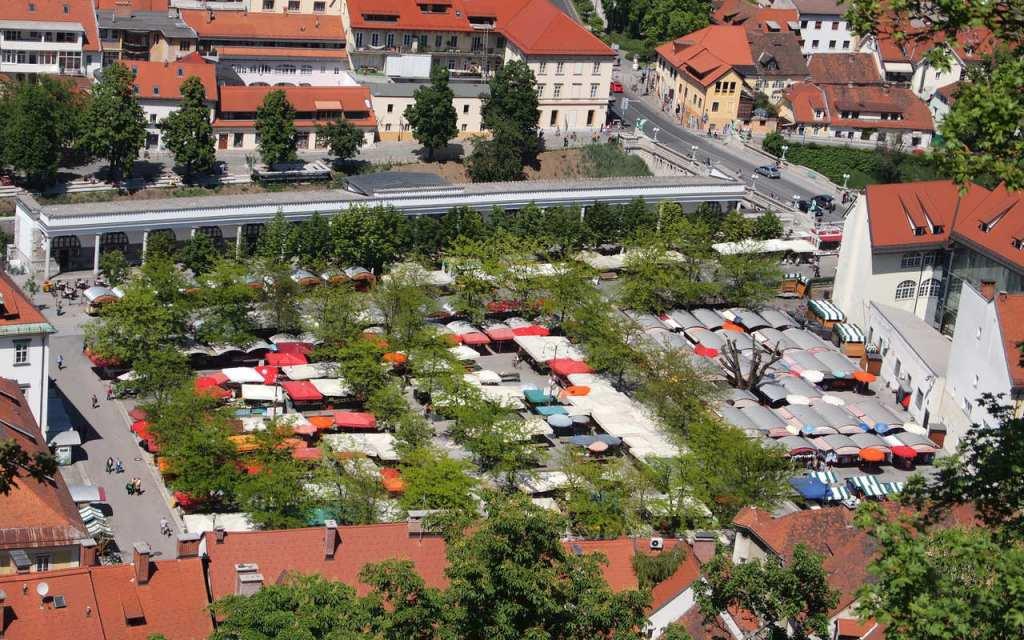 Mercado Central de Ljubljana.