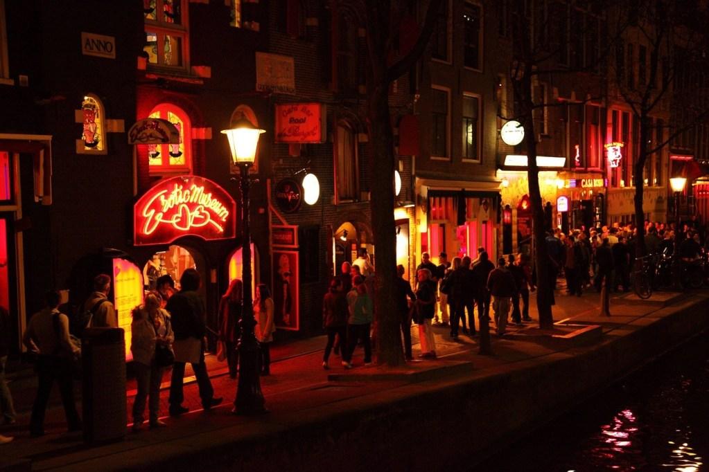 Red Light District em Amsterdam, Holanda