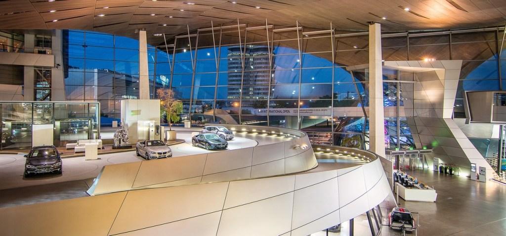 BMW Welt em Munique, na Alemanha
