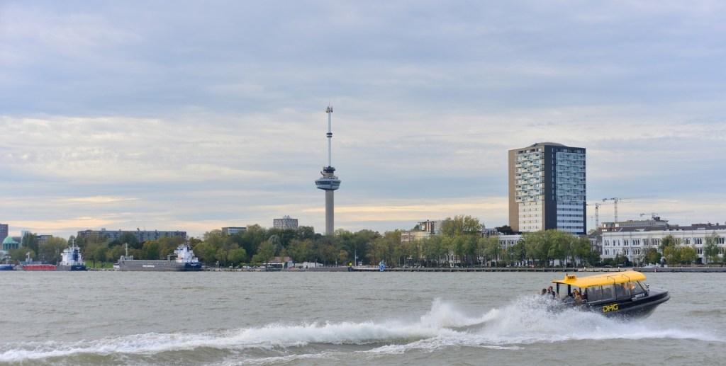 Euromast em Rotterdam, na Holanda