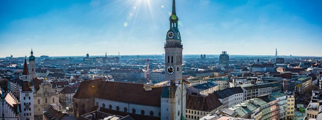 Igreja de St. Peter em Munique, na Alemanha