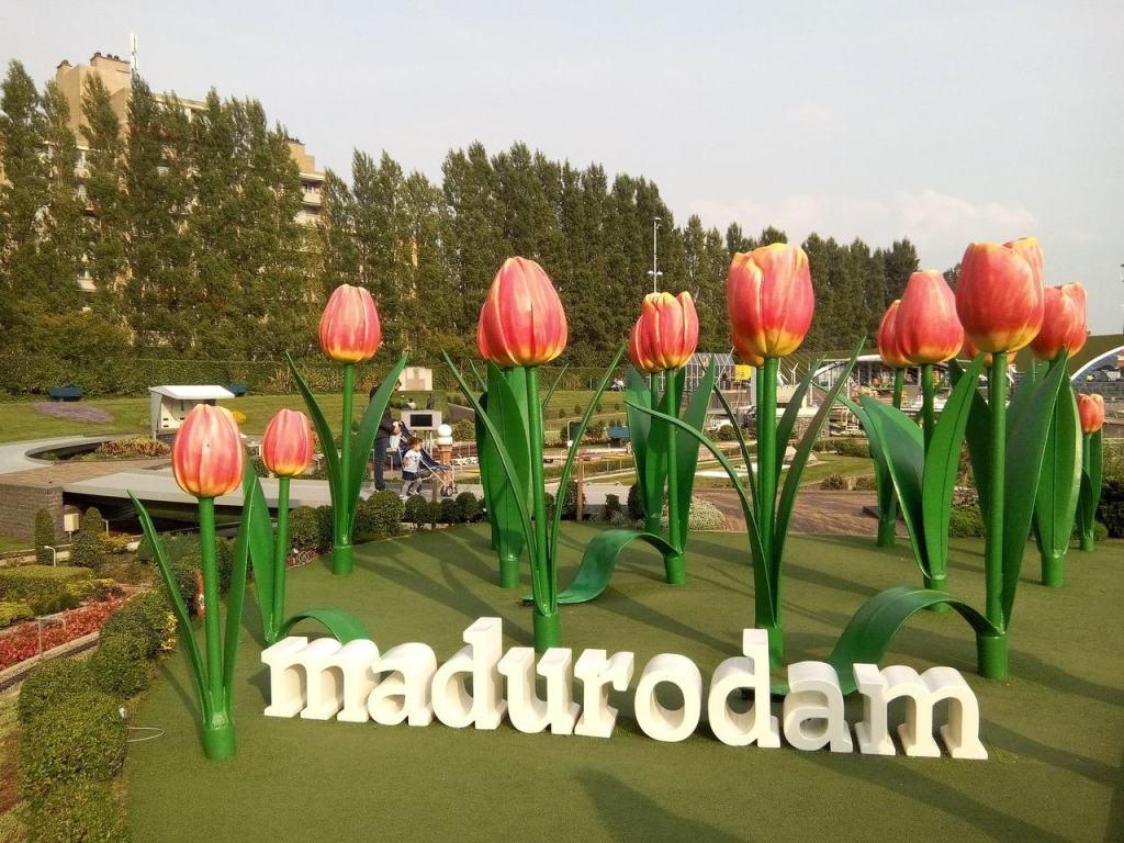 Madurodam em Amsterdam, na Holanda