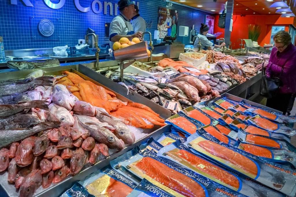 Fish Market em Hamburgo, na Alemanha
