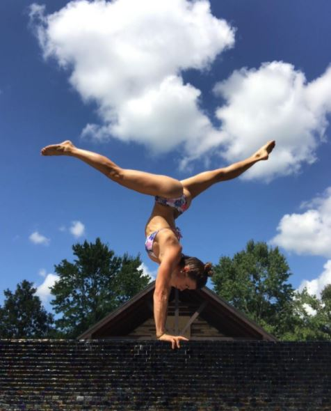 Nothing to see here but a Danica Patrick handstand | Tireball NASCAR News, Rumors, Gossip and ...