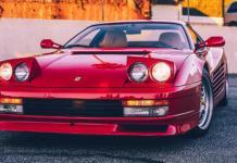 1990 Ferrari Testarossa 14 years College Tuition 3