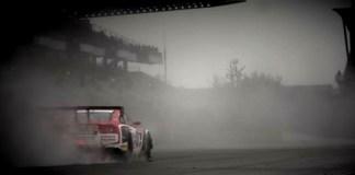 racing on wet gtr nurburgring