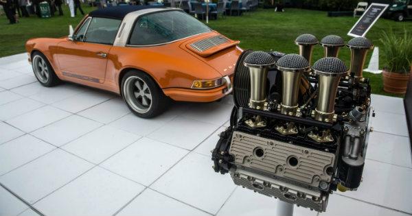 Ed Pink Racing Engines Singer Vehicle Porsche 911 1
