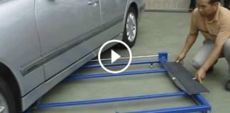 Tilting Mini Lift 2500 garage 4