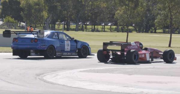 1000HP R34 GTR Roll Race A 1994 Formula 1 Car 2