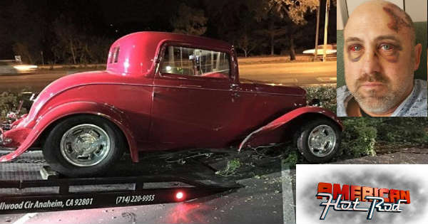 American Hot Rod Star Duane Mayer Fell Of His Ford Coupe At 25 MPH 2