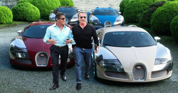 Arnold Schwarzenegger VS Sylvester Stallone Crazy Car Collection 1