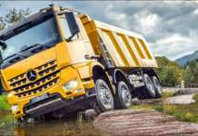 Off-Roading With Mercedes-Benz Trucks 11