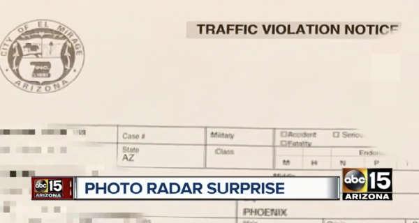 Photo Radar Ticket Sent To Man Who Had His Truck Stolen 1111