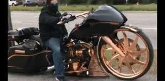 Prodigious Motorcycle big bike wheels custom build 2
