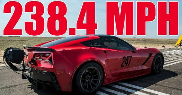 Record-Breaking TES Performance C7 Corvette Mile 2