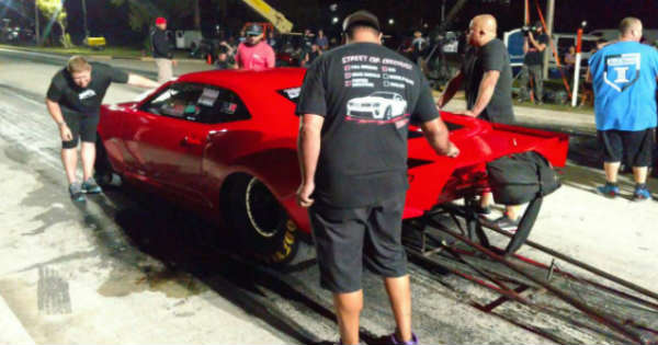 Ryan Martin FireBall Camaro Chevrolet Street Outlaws 1
