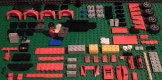 This Man Built His Own Lego Ferrari Car 1