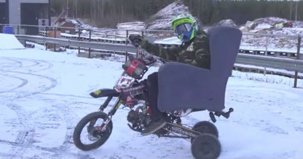 You Can Have A Lot Of Fun With This Winter Moped 1
