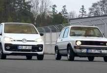 2018 VW UP GTI vs 1976 VW Golf 1 GTI - Future vs Past 1