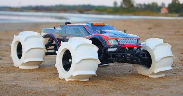 3D Printed RC Car Tires 1