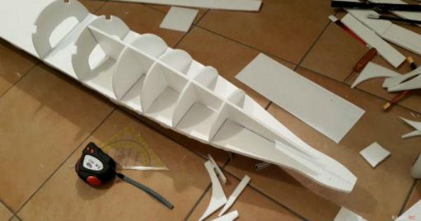 Building Qantas RC Boeing 737 2