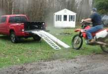 How Not To Load A Motocross Bike Into A Pickup 1