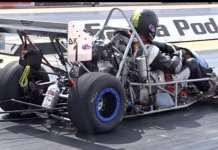 Insane 9 Second Drag Kart In Action 1