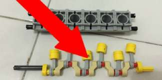 Lego Engine Blew Up at High RPM 1
