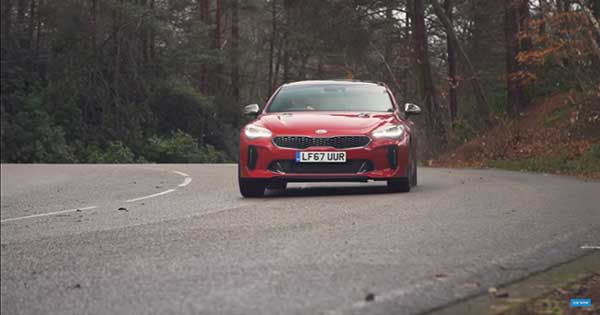 Mat Watson Reviews The Kia Stinger 2018 2