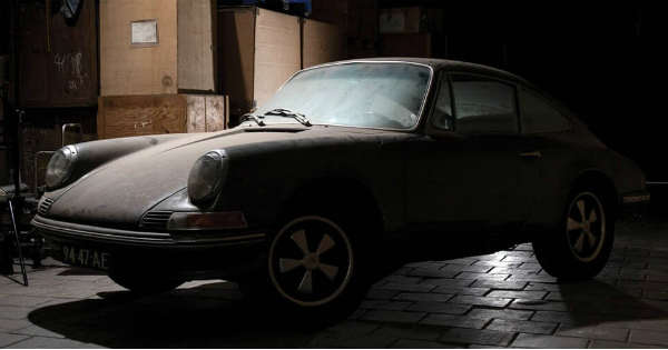 This Barn Find 1965 Porsche 912 Was The Perfect Christmas Present 2