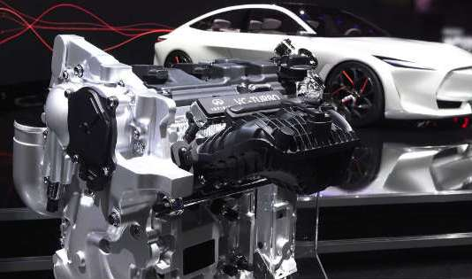INFINITI Has Just Launched Their Brand New Gasoline Engine VC-Turbo 1