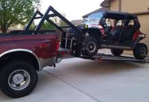 The Hydraulic UTV Deck Will Make The Job Of Loading Easy 1