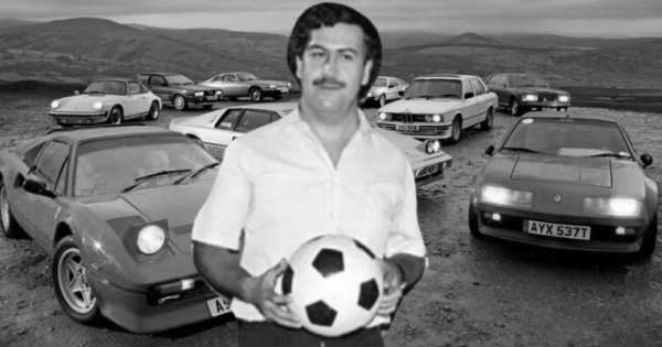 The Very Special Car Collection That Pablo Escobar Had In 1993 2