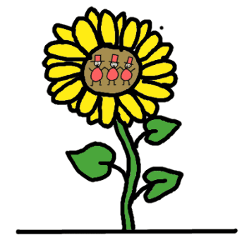 sunflower containing omega 6 - comic