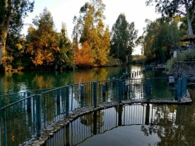 There are several baptism sites