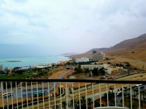 The Dead Sea from our hotel