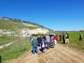 The Valley of Elah, where David slew Goliath