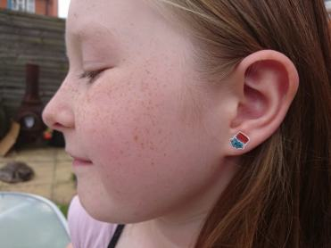 H&A stick on earrings