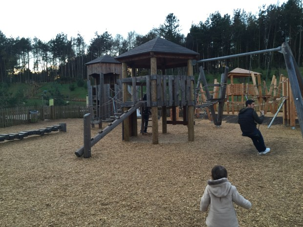 One of the playgrounds at Centre Parcs Woburn