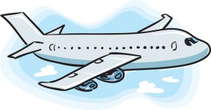 I'm scared to post an image here in case people think it relates to the game in question, so here's some lovely random clip-art of a plane.