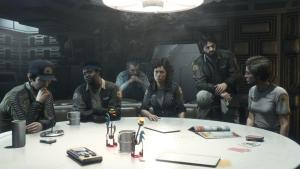 """""""Shit, I bought Alien Isolation after launch and now I can't get the exclusive pre-order DLC featuring the exclusive crew. BOO HOO HOO HOO oh wait, there it is as paid DLC"""""""