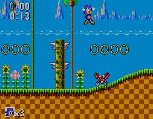 Sonic The Hedgehog (Master System version)