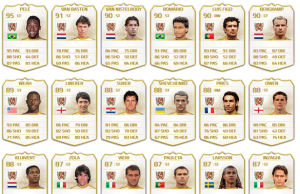 DESIGN NOTE: ENSURE THIS IMAGE IS DISPLAYED WITH THE SLOGAN 'ULTIMATE TEAM LEGENDS: GET A GOOD LOOK AT THEM NOW BECAUSE IT'S THE LAST YOU'LL EVER SEE OF THEM'