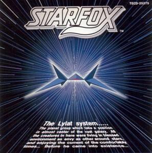 Star Fox soundtrack CD