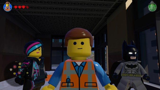 I spent £15 on Emmet from The Lego Movie. It was worth it so I could take this screenshot