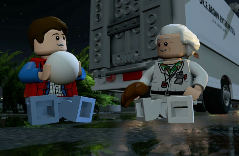 Lego Dimensions – Back To The Future Level Pack review