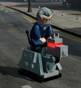 Lego Dimensions Doctor Who Level Pack - K9 main pic